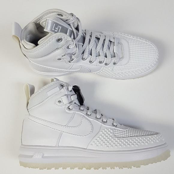 5b526a780e8d Nike Lunar Force 1 Duckboot White Size 8